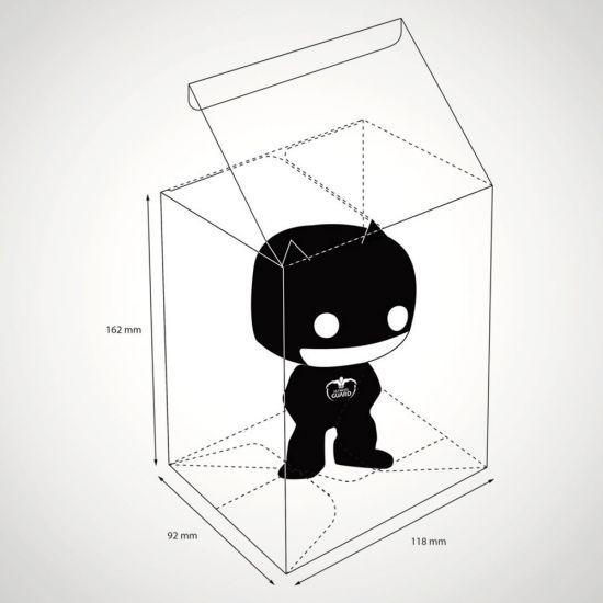 Pop Protector - Grey Background