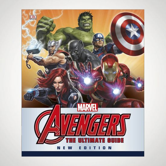 Marvel Avengers Ultimate Guide New Edition - Grey Background