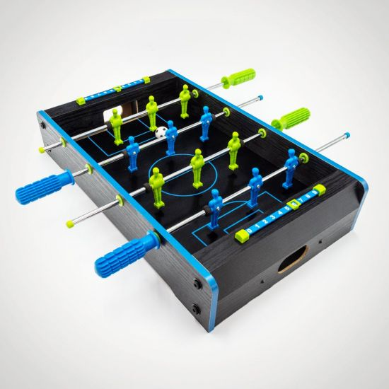 Neon Table Soccer - Grey Background