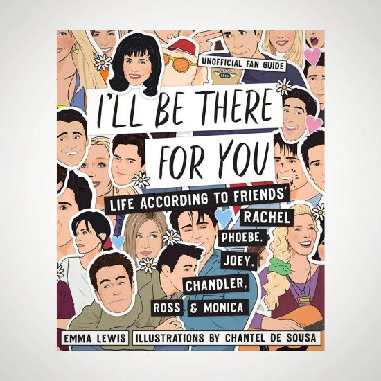FRIENDS I'll Be There for You Book  - grey background