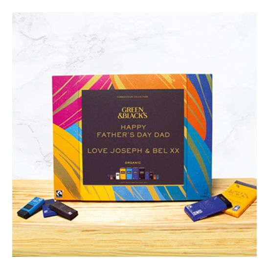 Personalised Green and Black's Chocolate Box - Lifestyle