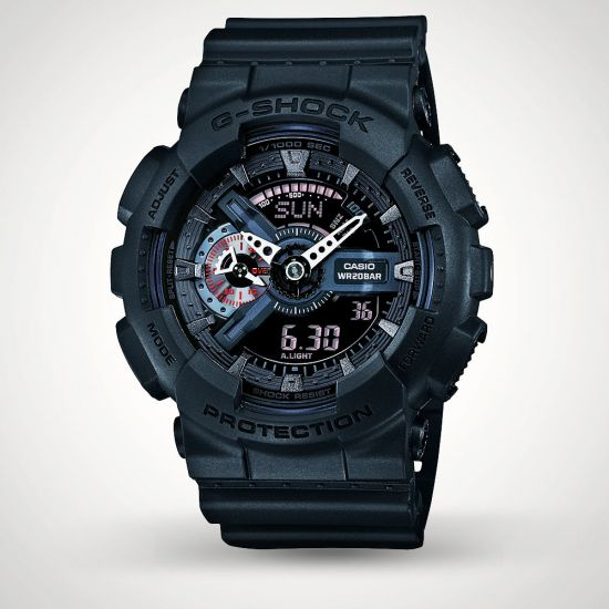 G-Shock GA-110MB-1AER Watch - Grey Background