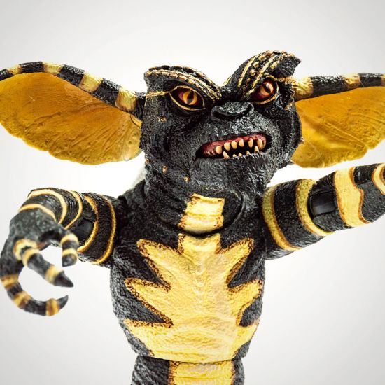 "Gremlins 7"" Stripe Figure - Grey Background"