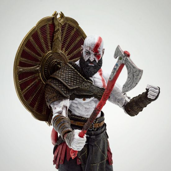 "God of War (2018) Kratos 7"" Figure - Grey background"