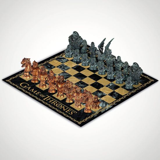 Game of Thrones Collector's Chess Set grey background