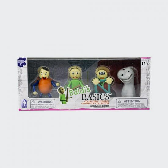 Baldi's Basic Collectible Figure Pack - grey background