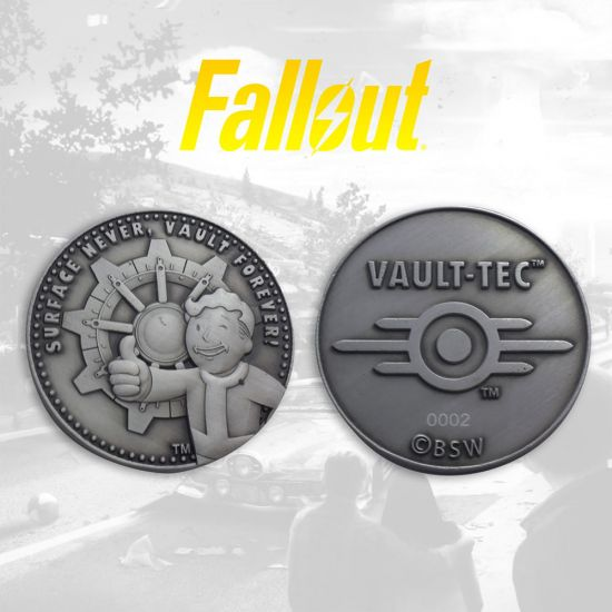 Fallout Limited Edition Coin - Lifestyle