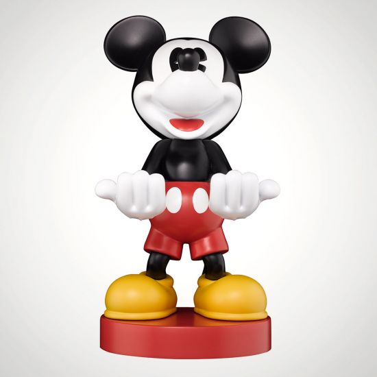 """Mickey Mouse 8"""" Cable Guy - Grey Background"""