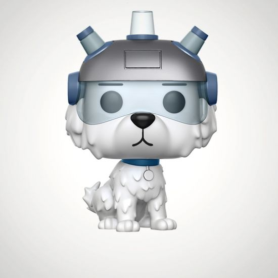 POP! Vinyl: Rick & Morty: Snowball - Grey Background