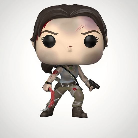 POP! Vinyl: Games: Tomb Raider: Lara Croft - Grey Background