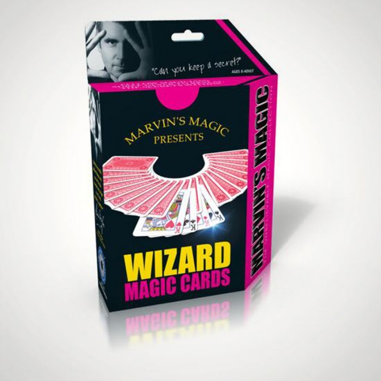 Unbelievable Wizard Magic Cards - Grey Background