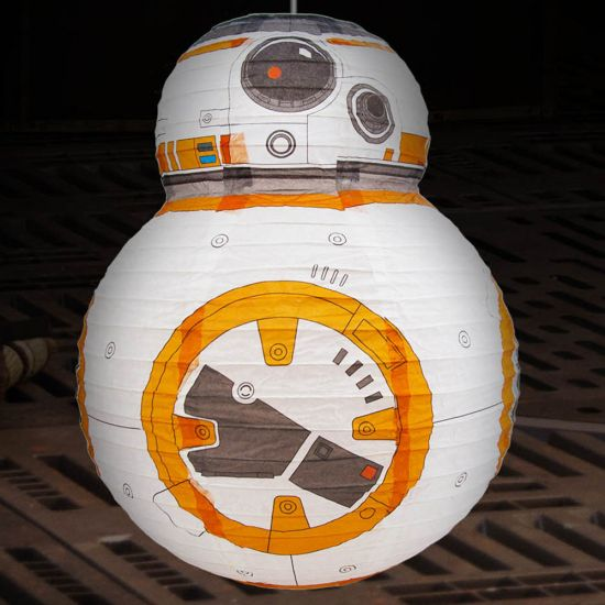 Star Wars BB-8 Lamp Shade-Lifestyle