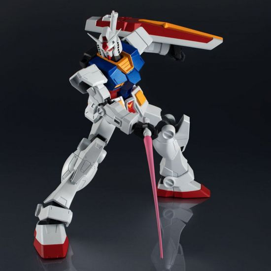 Mobile Suit Gundam Bandai Tamashii Nations Gundam Universe Action Figure RX-78-2 Gundam 15cm - black background