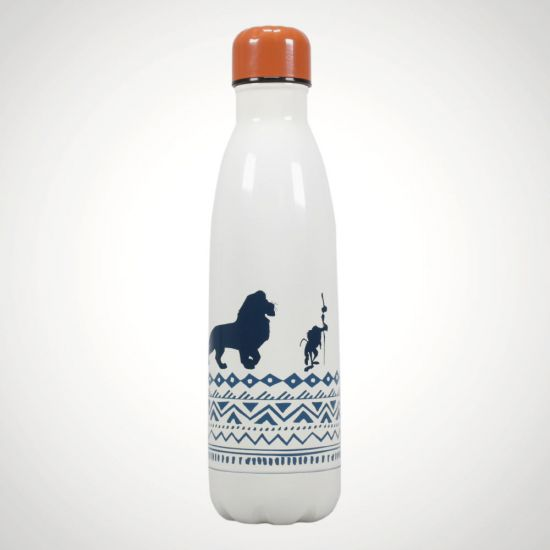 The Lion King Metal Water Bottle - Grey Background