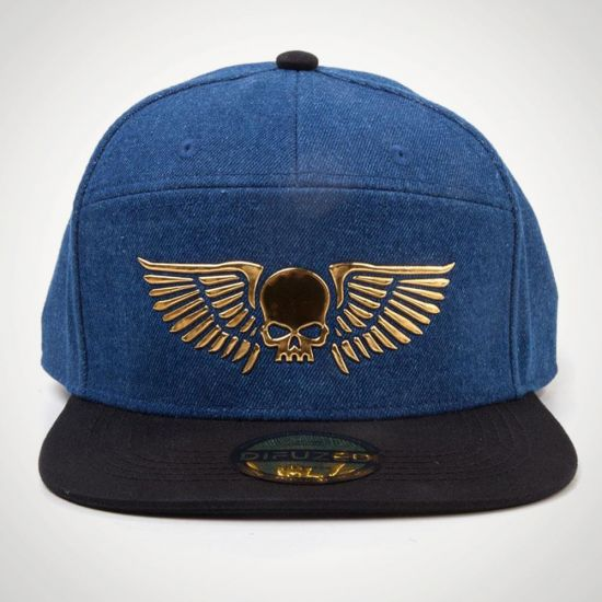 Warhammer 40K Space Marines Snapback - grey background