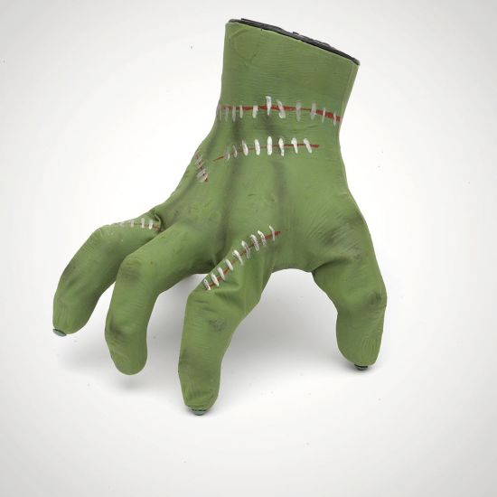 Crawling Hand Sound Activated Toy-Grey Background
