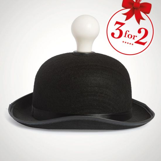 Light Headed Bowler Hat Light