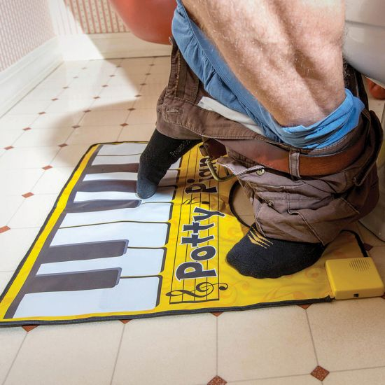 Potty Piano Musical Bathroom Mat - Lifestyle