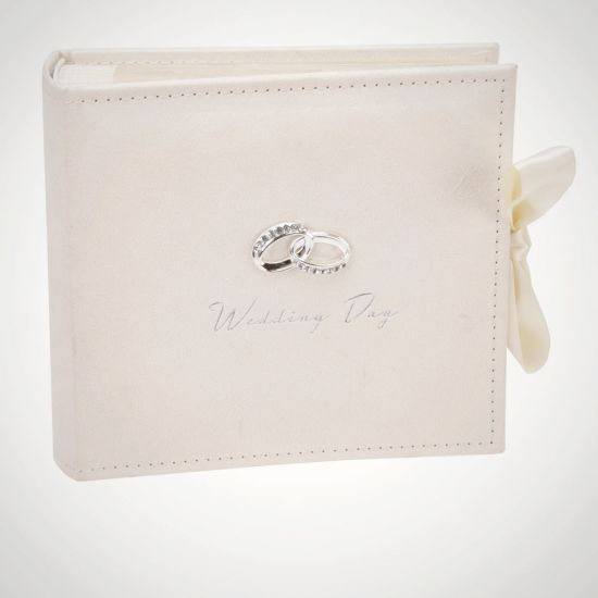 Amore Wedding Photo Album - Grey Background
