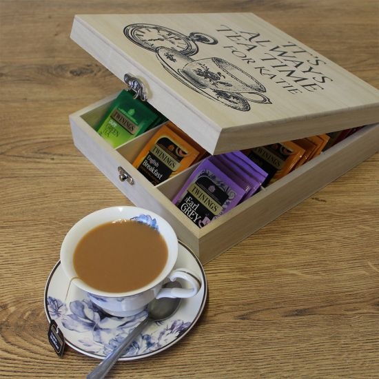 Personalised Twinings Tea Box-Lifestyle