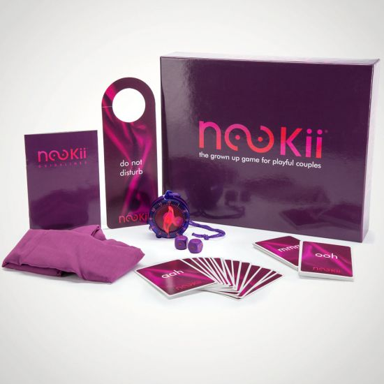 Nookii Board Game-Grey Background