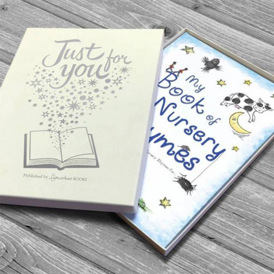Personalised My Book  of Nursery Rhymes - Lifestyle