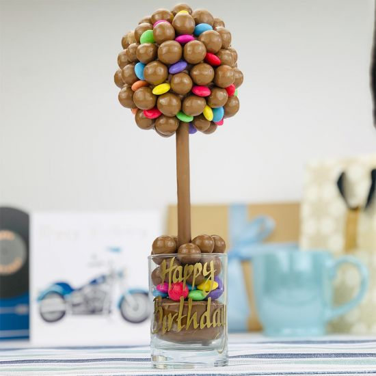 Chocolate Sweet Tree- Maltesers and Smarties-Lifestyle