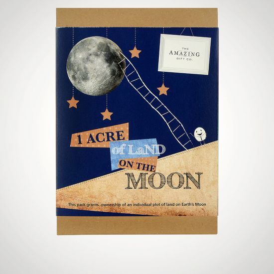 Buy A Piece Of The Moon - Grey Background