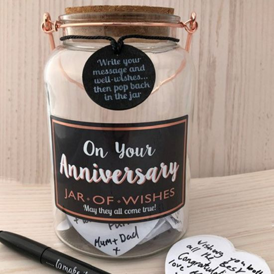 Anniversary Wish Jar - Lifestyle