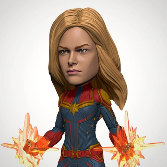Avengers Endgame Head Knocker Captain Marvel - grey background