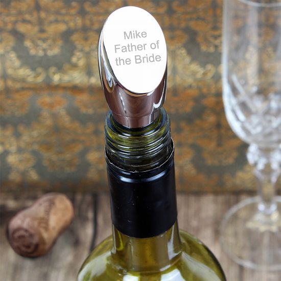 Personalised Wine Bottle Stopper - Lifestyle