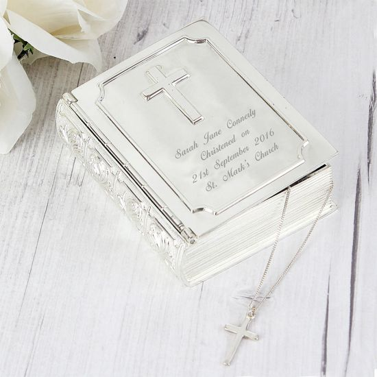 Personalised Bible Trinket Box - Lifestyle