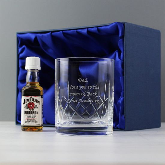 Personalised Crystal Whisky Glass With Presentation Box - Lifestyle