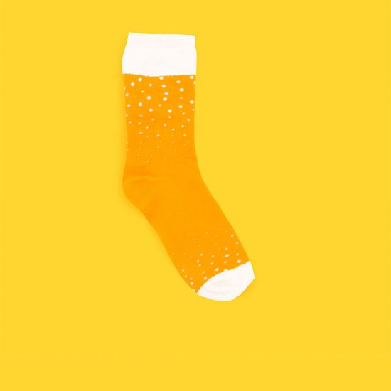 Beer Socks in a Can - Lifestyle