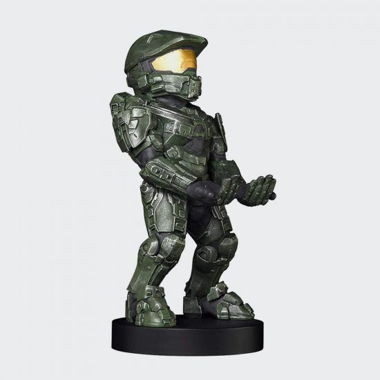 Master Chief Cable Guy - Grey Background