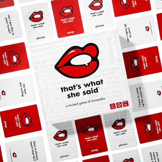 That's What She Said Card Game - Lifestyle