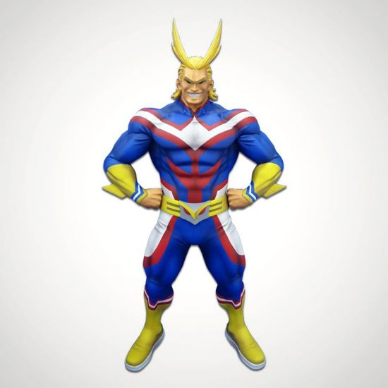 My Hero Academia All Might Figure - Grey Background