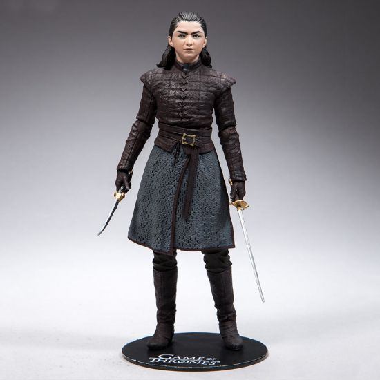 Game of Thrones Arya Figure-Grey Background