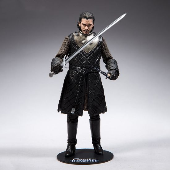 Game of Thrones John Snow Figure-Grey Background