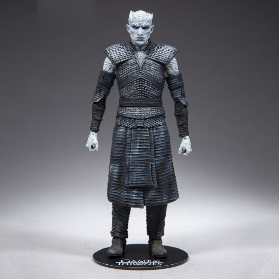 Game of Thrones Night King Figure-Grey Background
