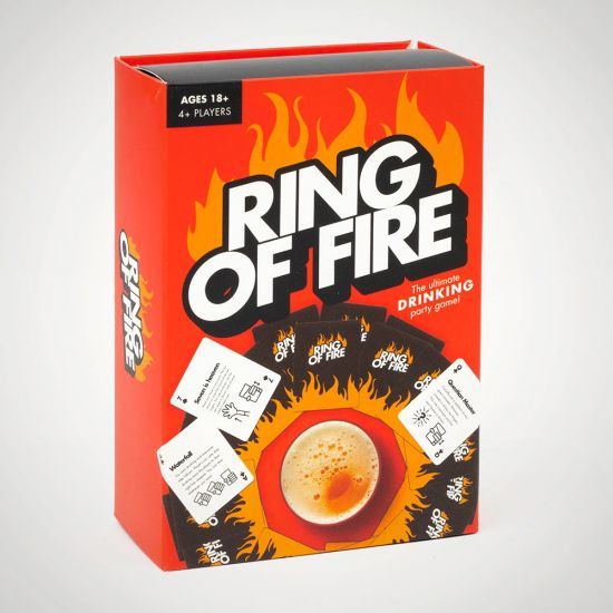 Ring of Fire - grey background