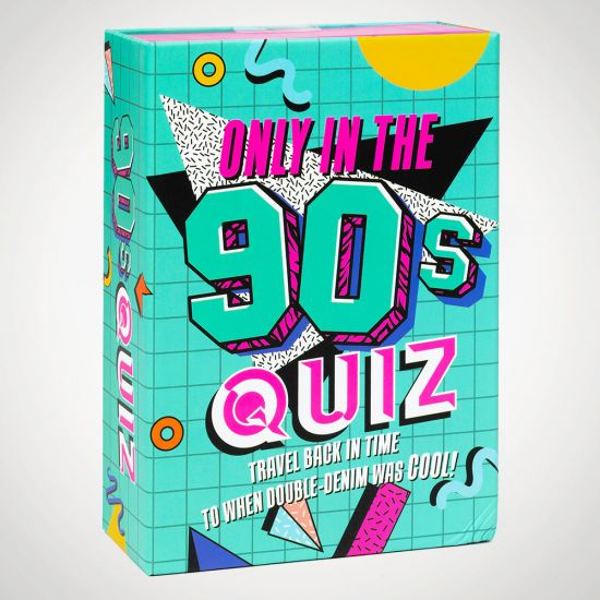 Only in the 90's Quiz - grey background