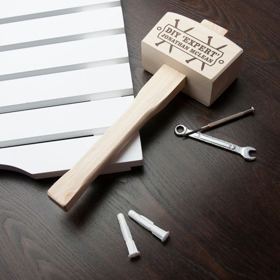 DIY 'Expert' Personalised Wooden Mallet - Lifestyle