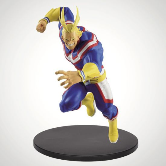 My Hero Academia Banpresto The Amazing Heroes vol.5 All Might - grey background