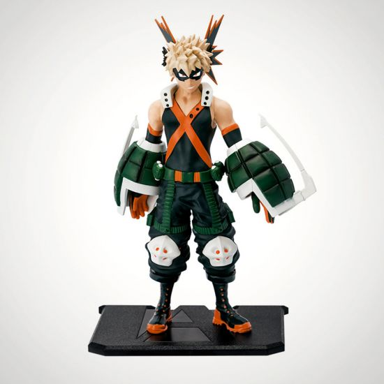 "MY HERO ACADEMIA - Figurine ""Katsuki Bakugo"" - Grey Background"