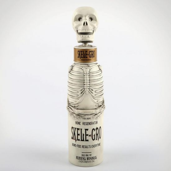 Skele-Gro Water Bottle - grey background