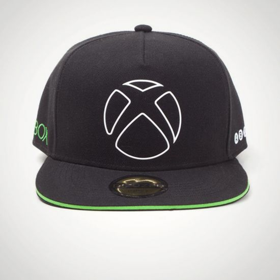 Xbox Ready To Play Snapback Cap - Grey Background