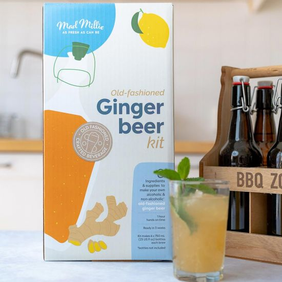 Mad Millie Old Fashioned Ginger Beer Kit - Lifestyle