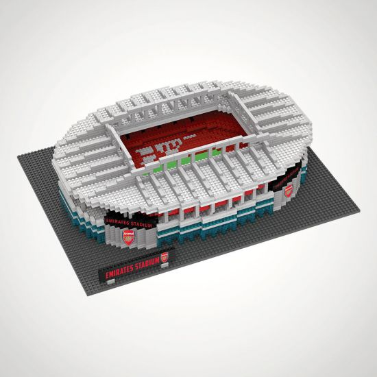 Arsenal FC Football Stadium 3D Construction Kit - grey background