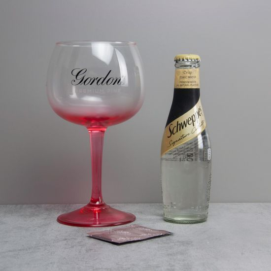 Gordons Pink Copa Glass, Tonic & Shimmer